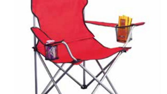 RED Camper Chair