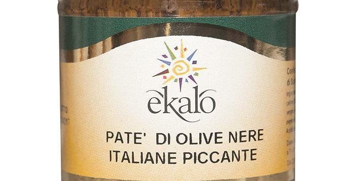 Patè di olive nere piccante