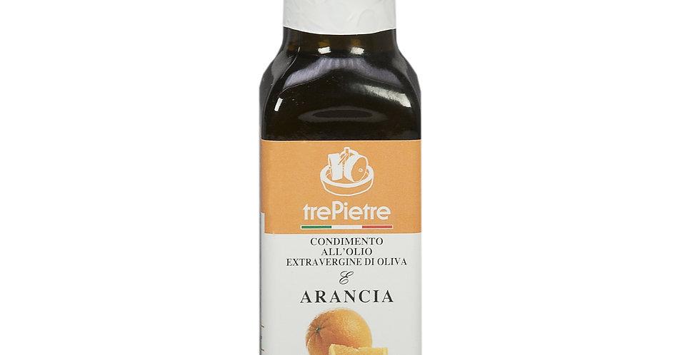 Olio EVO aromatizzato all'arancia