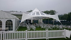 A Hired Wedding Marquee in Leeds