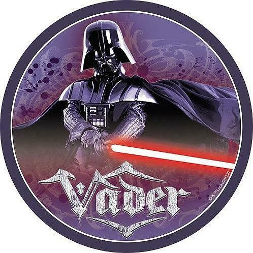 "Star Wars Darth Vader 8"" Round Edible Cake Topper"