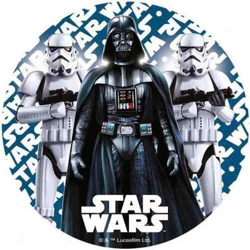 "Star Wars 8"" Round Edible Cake Topper #2"