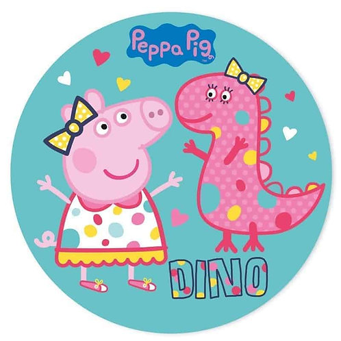"""Peppa Pig 8"""" Round Edible Cake Topper #10"""