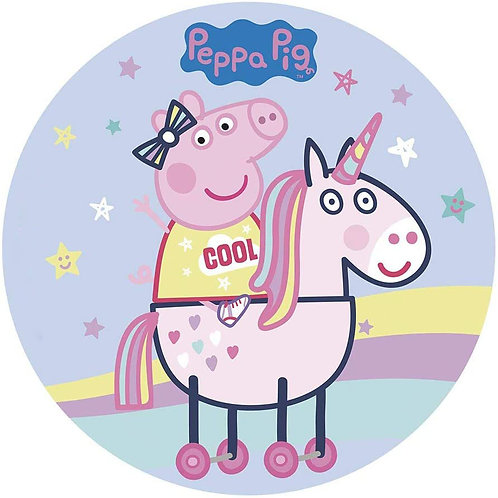 """Peppa Pig 8"""" Round Edible Cake Topper #5"""