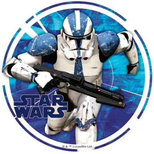 "Star Wars 8"" Round Edible Cake Topper #9"