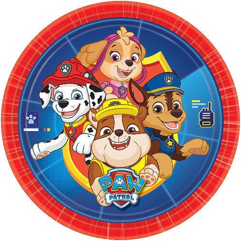 """Paw Patrol Gang 8"""" Round Edible Cake Topper"""