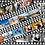Thumbnail: Personalised Film Reel Cake Wrap - 3 Strips And 15 Images Icing Sheet