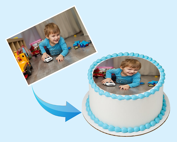 Edible Cake Photo Prints & Cake Toppers - Topper For Cakes