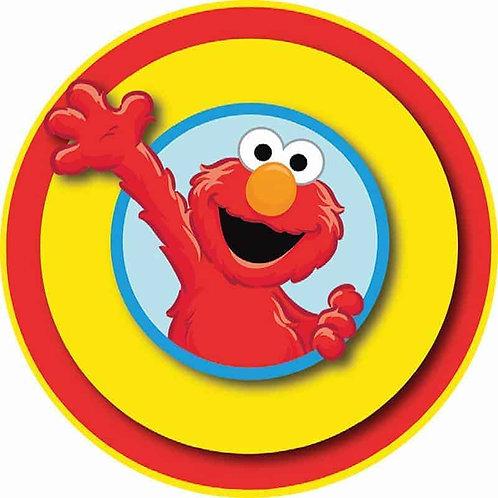 """Elmo 8"""" Round Edible Cake Topper"""