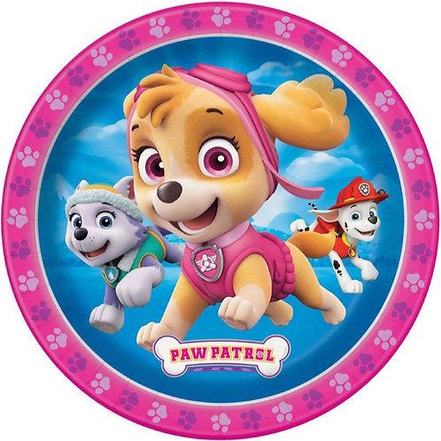"Paw Patrol 8"" Round Edible Cake Topper #2"