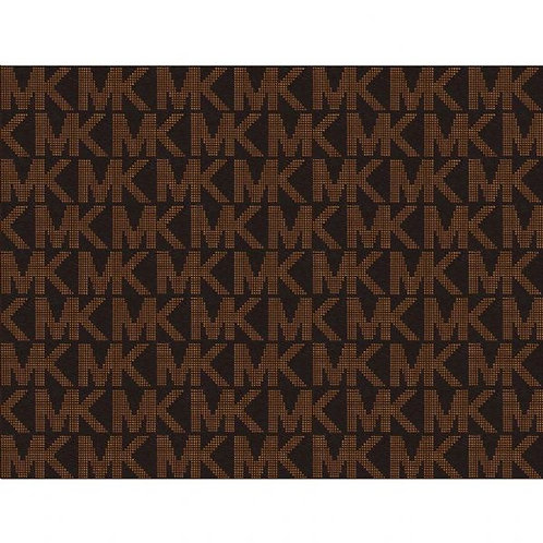 Michael Kors Brown Patterned Edible A4 Sized Cake Topper