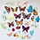 Thumbnail: 32 x Precut Butterflies / Insects / Flowers Edible Wafer Cupcake Toppers