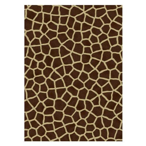 Giraffe Or Animal Skin Edible A4 Sized Cake Topper
