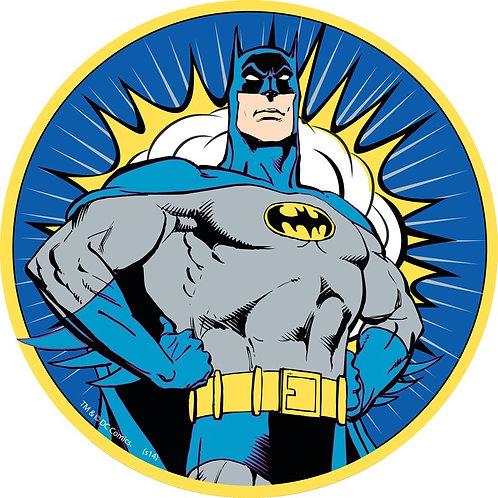 """Batman 8"""" Round Edible Cake Topper"""