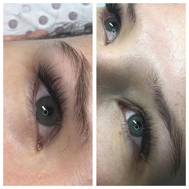 Combination  Lash extensions