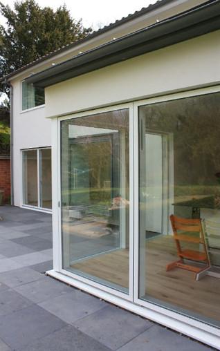 modern house extension 1