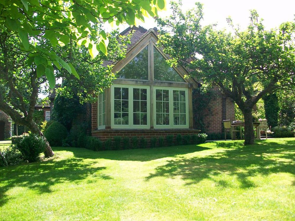 oak frame garden room