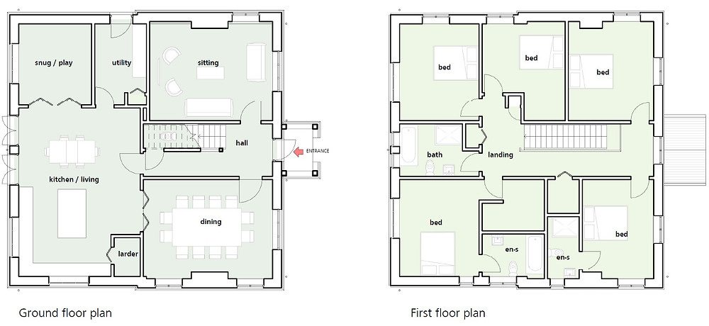 Inkpen house plan