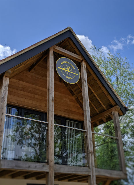 EDGE canoe club house