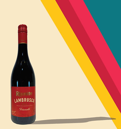Lambrusco Chilled Sparkling Red Wine