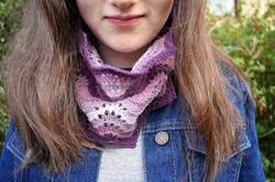 Shetland Lace Snood