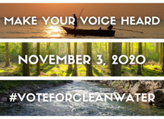 #VOTE FOR CLEAN WATER