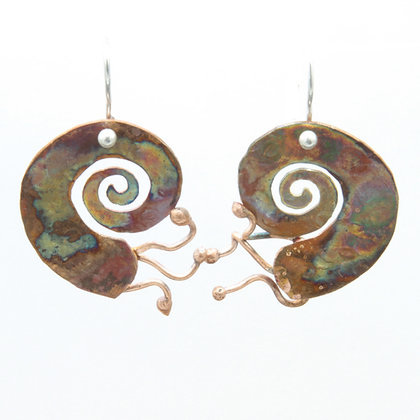 Nautilus Earrings
