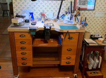 A Jeweler's Bench