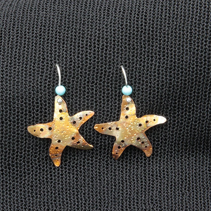 Large starfish w/turquoise