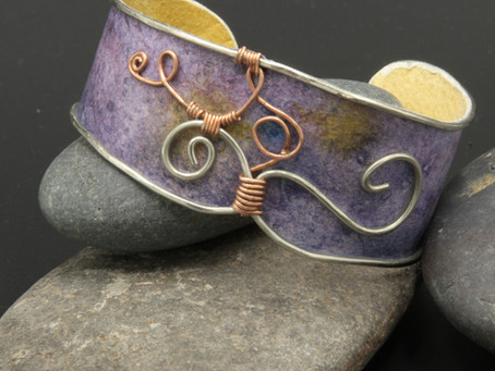 The artistic collaboration behind our new Watercolor Bracelets