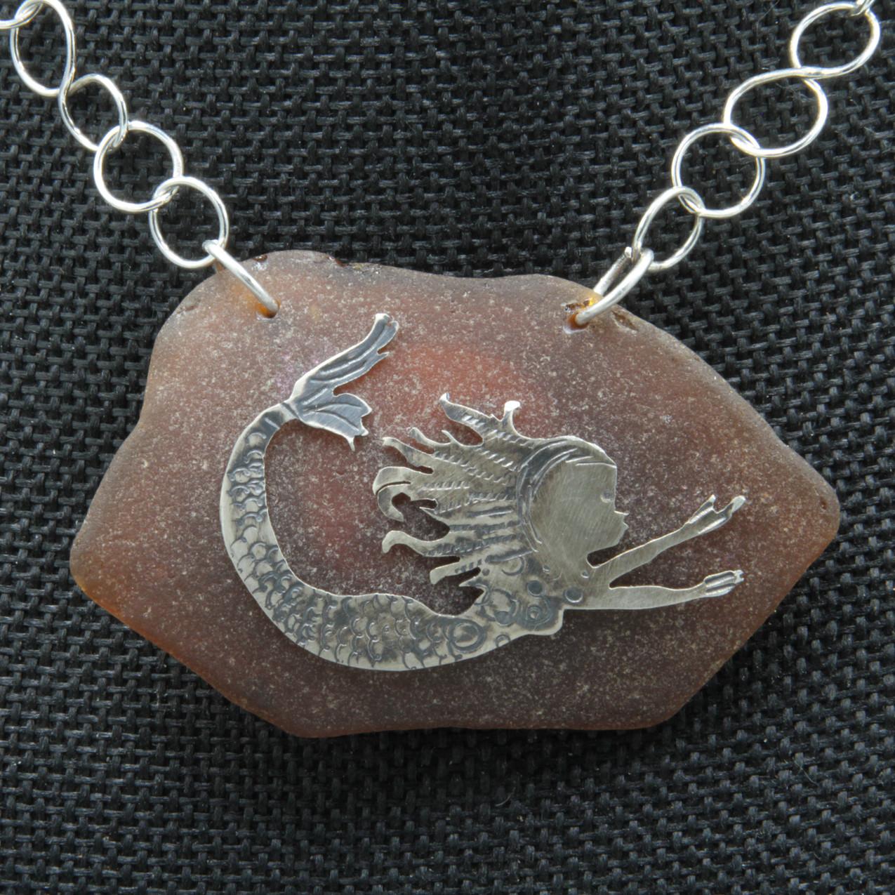 Nk silver brwn mermaid