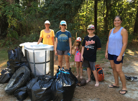Roaring Point Coastal Cleanup Leaves the Beach Looking Pristine!