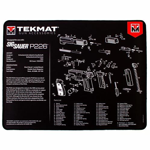 TEKMAT PISTOL MAT SIG P226 BLK