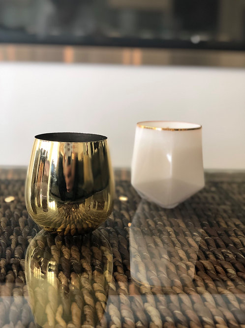 Polished Metal Handmade Soy Candle