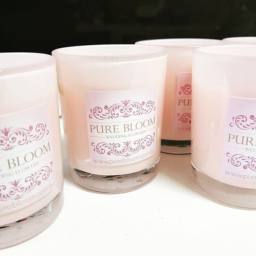 48 x Promotional Votive Candles - we design a candle just for you