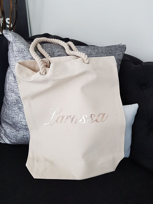 Canvas Carry Bag | Personalised Bag | Shopping Bag