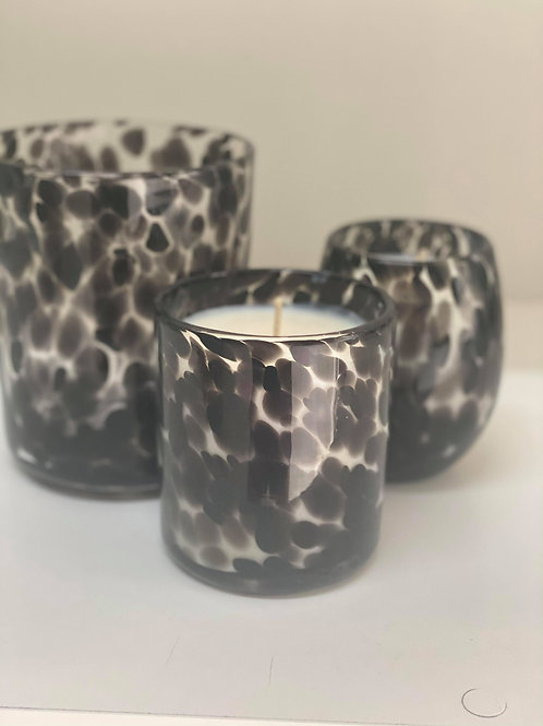 Large Cheetah Scented Soy Candle