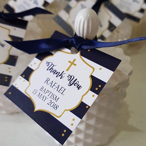 24 - Luxury Scented Candle Favours - 100ml Wedding Favours, Baby Shower
