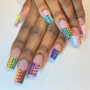 nail salon lookbook