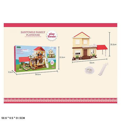 Игрушка детская:Кукольный дом с набором