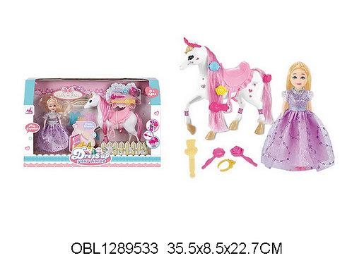 Купить игрушку кукла с лошадью