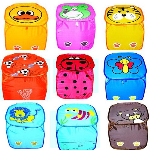 Купить игрушку корзина для игрушек 45х45 см 7-8 видов