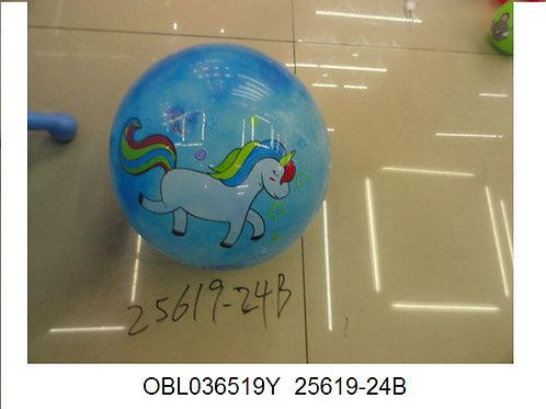 Купить игрушку мяч пластизоль 23 см (упаковано по 10 шт)