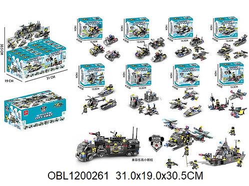 Купить игрушку конструктор армия 8 шт/коробка 8 в 1