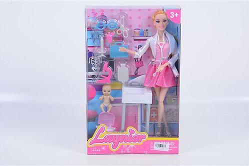 Игрушка детская:Кукла с набором