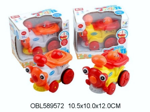 Купить игрушку паровоз на батарейках 2 цвета акция скидка 55%