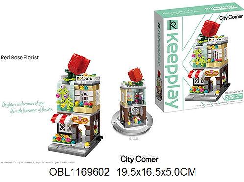 Купить игрушку конструктор брик Keeppley 329 дет.