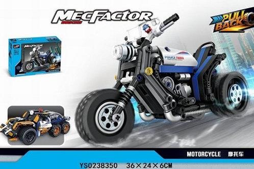 "Конструктор Decool 3802 ""Мотоцикл Полиция"" 284 дет. 36х24х6 см"