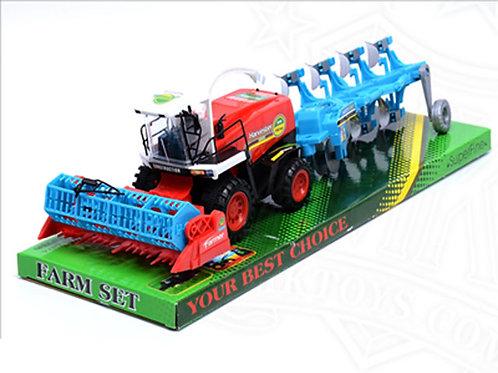 Игрушка детская:Трактор фермера 47x16x12.5 см