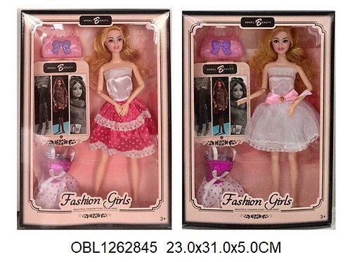 Купить игрушку кукла с платьем 2 вида